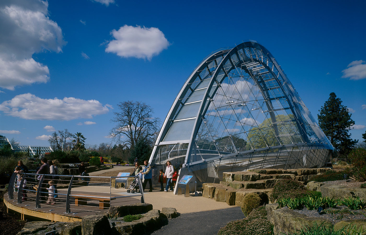 When It Formally Opened In 2006, The Alpine House At Kewu0027s Royal Botanic  Gardens Was The First New Glasshouse To Be Constructed At Kew For More Than  20 ...