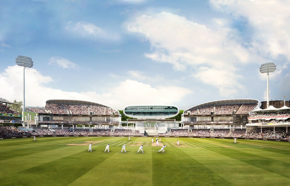 Compton & Edrich Stands, Lord's Cricket Ground, London