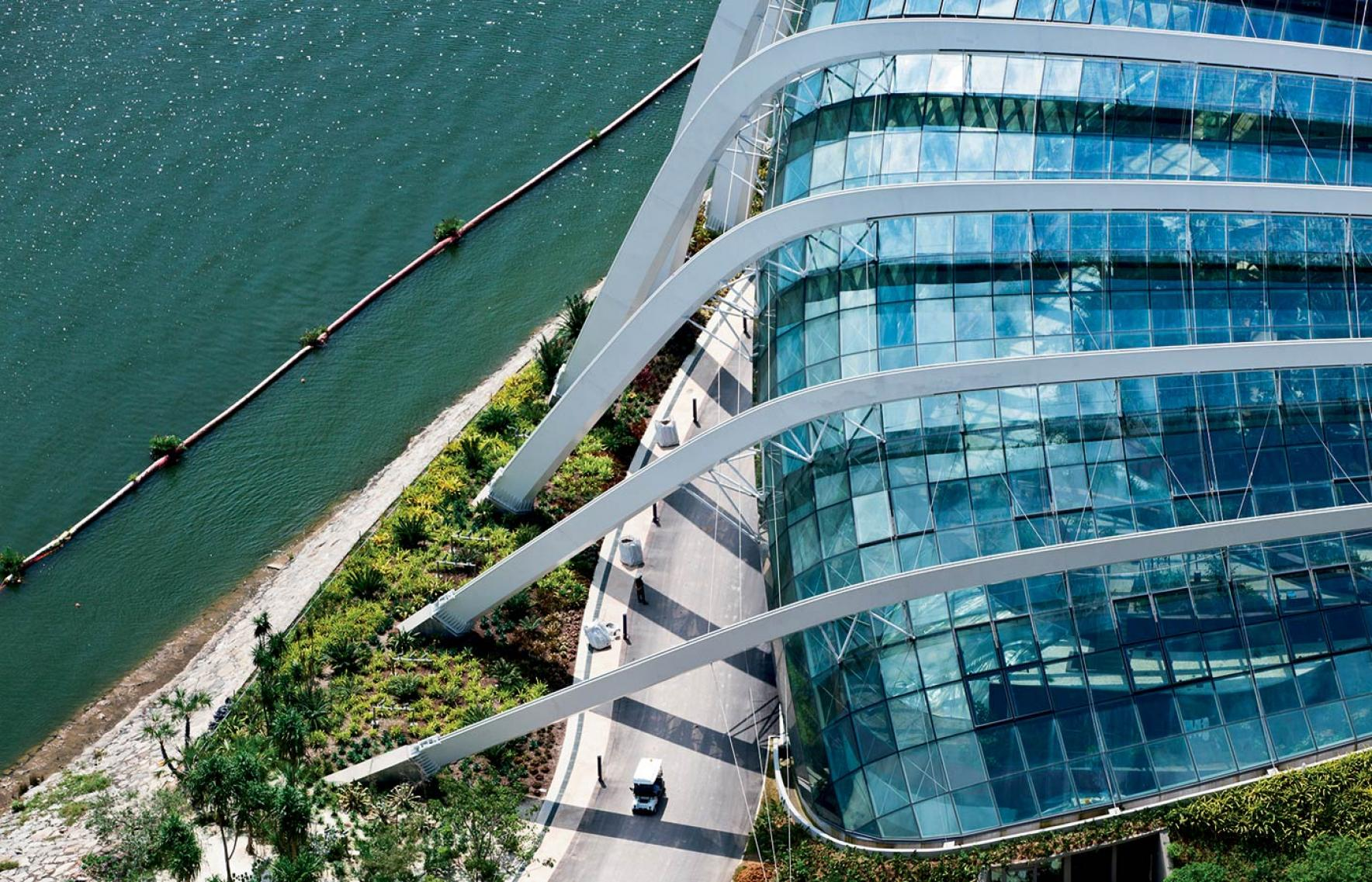 Cooled conservatories gardens by the bay wilkinsoneyre for Wilkerson builders